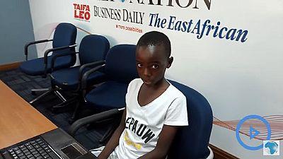 Kenya : un enfant de douze ans crée un site web pour une entreprise