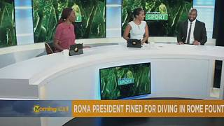 AS Roma chairman fined for diving in city fountain [Sport]