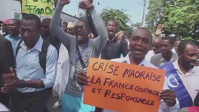 Manifestation à Moroni pour réclamer le retour de Mayotte dans le giron des Comores