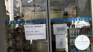 IMAGE: Pharmacy in Creil, France