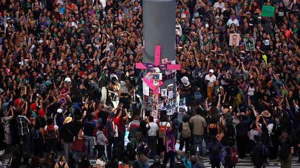 Image: International Women's Day in Mexico City