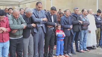 Prayers up for plane crash victims across Algeria