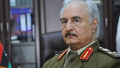 Libyan strongman Khalifa Haftar hospitalised in Paris - spokesperson