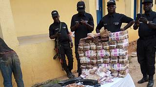 Nine arrested after fatal Nigeria bank robbery
