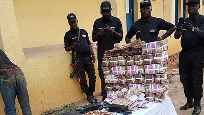 Nine arrested after fatal Nigeria bank robbery