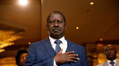 Raila Odinga represents Kenyan gov't at Winnie Mandela's funeral