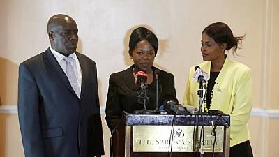 IEBC Commissioners Consolata Maina, Paul Kurgat and Margaret Mwachanya Resign
