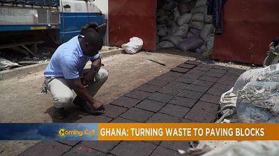 Ghana : du plastique recyclé pour paver des routes