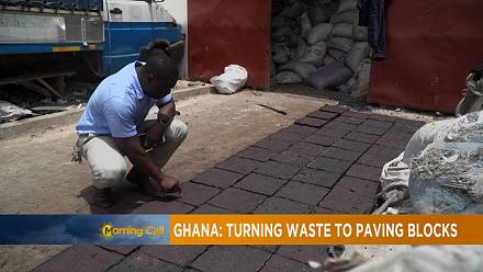 Ghana: Turning waste to paving blocks [The Morning Call]