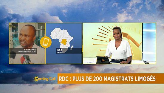 RDC : Plus de 200 magistrats limogés [The Morning Call]
