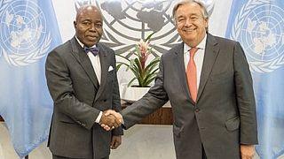 Décès à New-York de l'ambassadeur ivoirien auprès de l'ONU