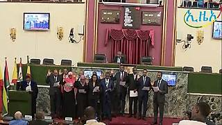 Ethiopia parliament ratifies PM Abiy's first cabinet