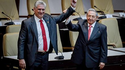 Cuba marks end of an era as Castro hands over to new president Diaz-Canel