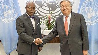 Hommage du Conseil de sécurité de l'ONU à l'ambassadeur ivoirien Tanoh-Boutchoue