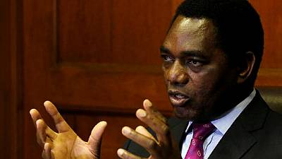 South Africa must tame Zambia's 'brutal regime', opposition leader says