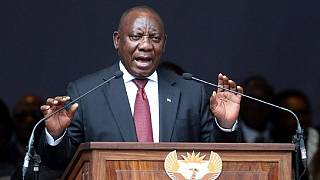 South Africa president leaves Commonwealth summit to address protests at home