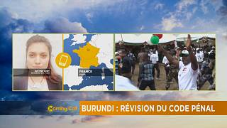 Burundi: Draft law changing the criminal code [The Morning Call]