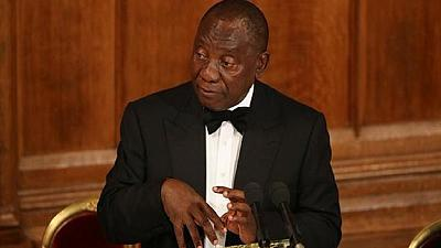 Cyril Ramaphosa leaves London as protests erupt in South Africa