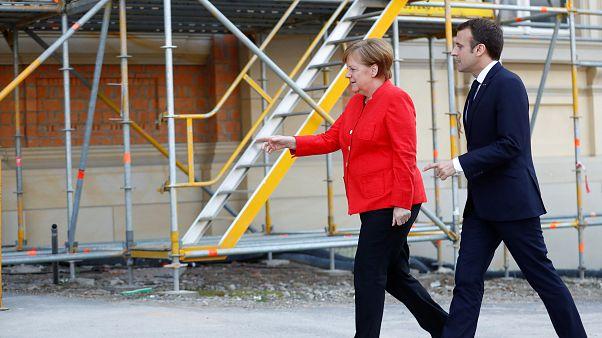 Реформаторы Меркель и Макрон. Трамп и Мэй - родня по оружию