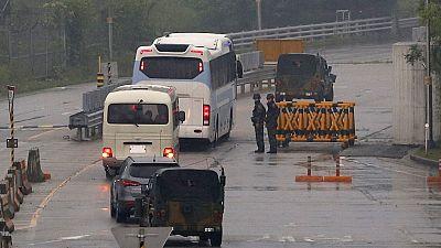 """Corée du Nord : """"lourd bilan"""" d'un accident impliquant des touristes chinois (Pékin)"""