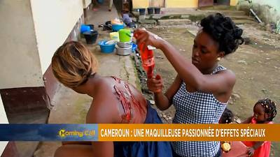 Cameroonian makeup artist excels in special effects [The Morning Call]