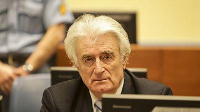 Le Serbe Radovan Karadzic plaide son innocence — Bosnie
