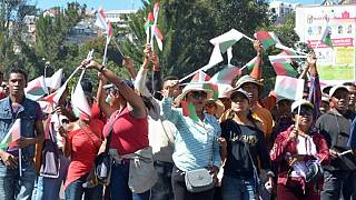 Thousands march in Madagascar in protest at new election laws