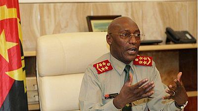 Angola : limogeage du patron de l'armée à son tour victime de la lutte anticorruption