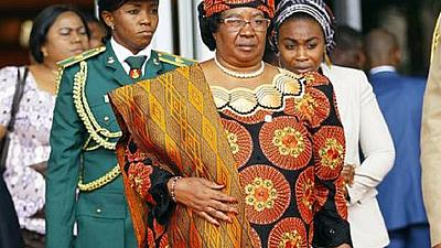 Former Malawi president Joyce Banda returns from exile