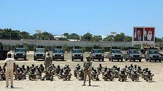 Rival groups from Somalia's army fight at former UAE training facility