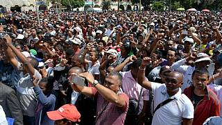 Madagascar leader urges end to unrest amid protests over deaths