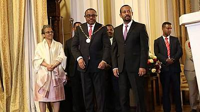 Ethiopia bestows highest national honour on ex-PM Hailemariam Desalegn