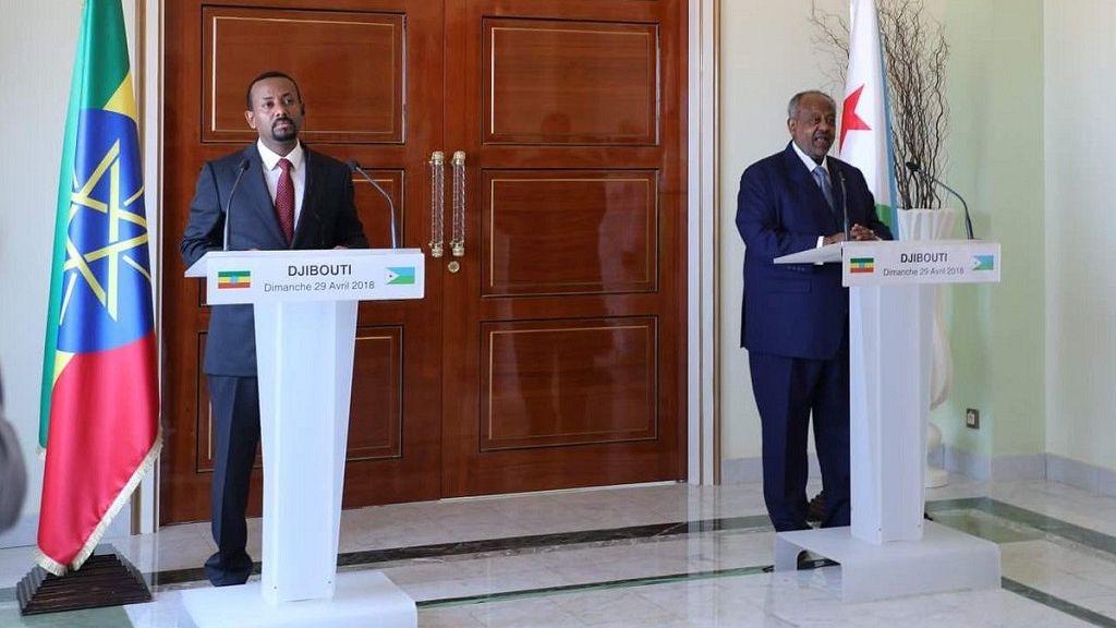 Ethiopia PM addresses Djibouti parliament 5