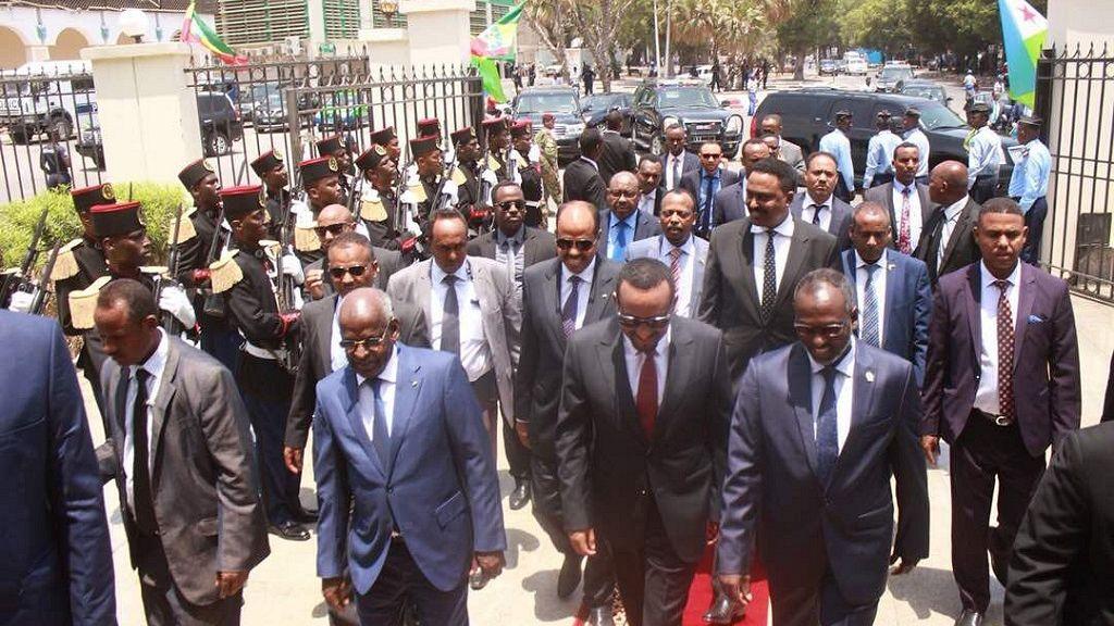 Ethiopia PM addresses Djibouti parliament 1