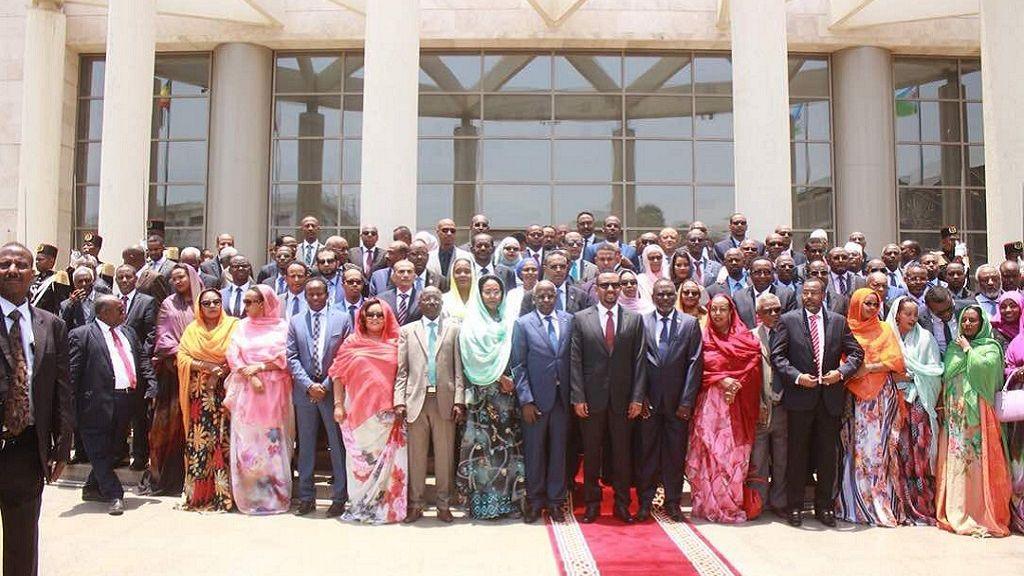 Ethiopia PM addresses Djibouti parliament 4