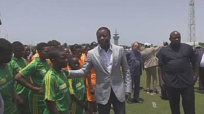 The search for young football stars underway in Togo