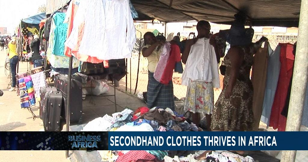 Secondhand Clothes Thrive In Africa