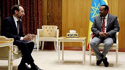 Ethiopia PM meets U.N. rights boss: Human rights, democracy top agenda