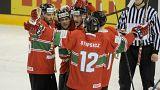 Megszerezte második győzelmét a magyar válogatott a hokivébén