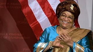 Liberia's Sirleaf receives 2017 Ibrahim leadership award in Rwanda today