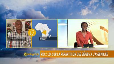 DRC: Bill on distribution of seats in National Assembly [The Morning Call]