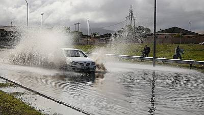 Drought-hit Cape Town as residents suffer floods after heavy rainfall