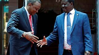 Kenyatta, Odinga call for support of unity deal, deny 2022 politicking