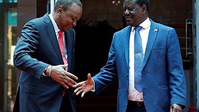 Kenyatta, Odinga call for support of unity deal, deny 2022 politicking