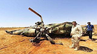 Libye : trois morts dans le crash d'un avion-cargo militaire dans le sud