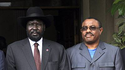 Ethiopia's Desalegn says Kiir has failed South Sudan, must step aside