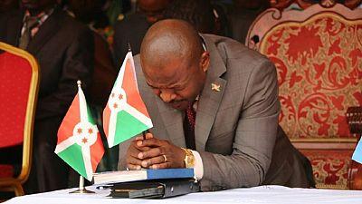 U.S. denounces violence ahead of Burundi presidential referendum