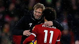 Mo Salah crowned player of the year by England football writers body