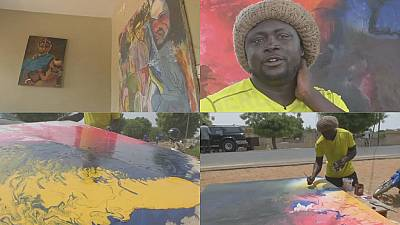 Senegalese artist questions cultural identity in his works for Dak'Art Biennale