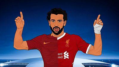 Ligue des Champions : l'AS Roma souhaite une bonne chance à Salah pour la finale